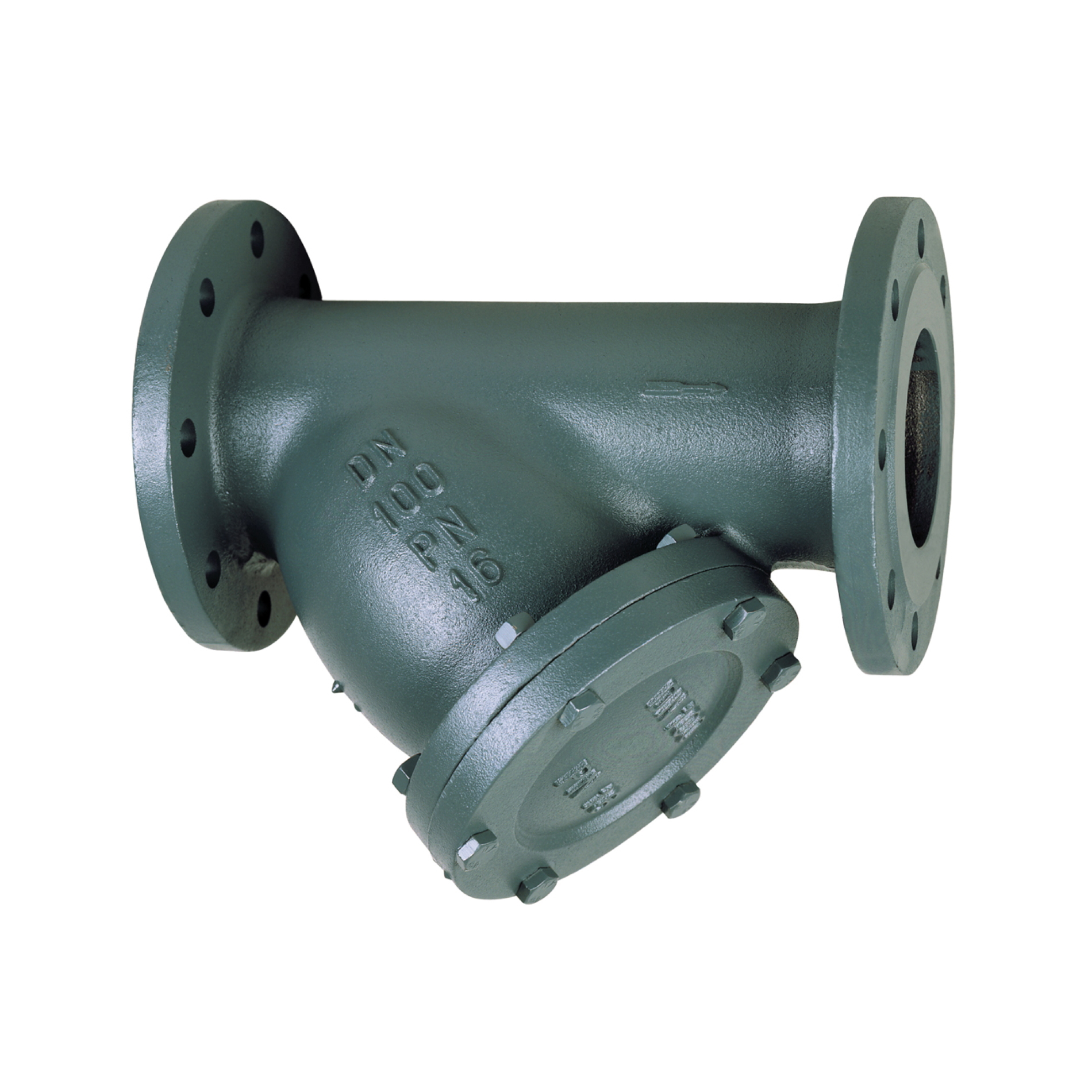 415 Filtro in ghisa flangiato Cast iron flanged Y pattern strainer