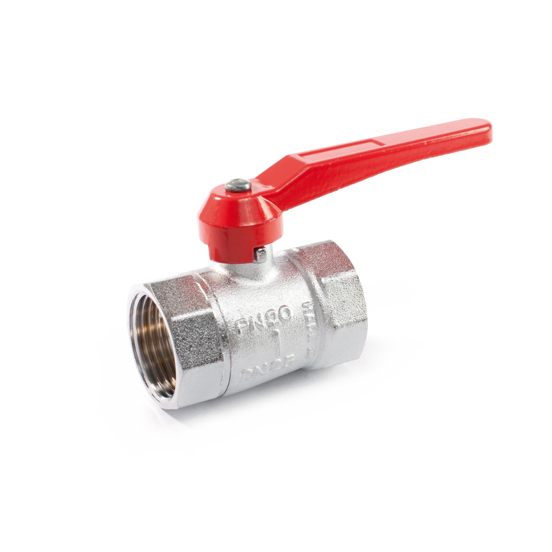 003 JOY Valvola a sfera a passaggio ridotto leva Reducing bore ball valve FxF lever