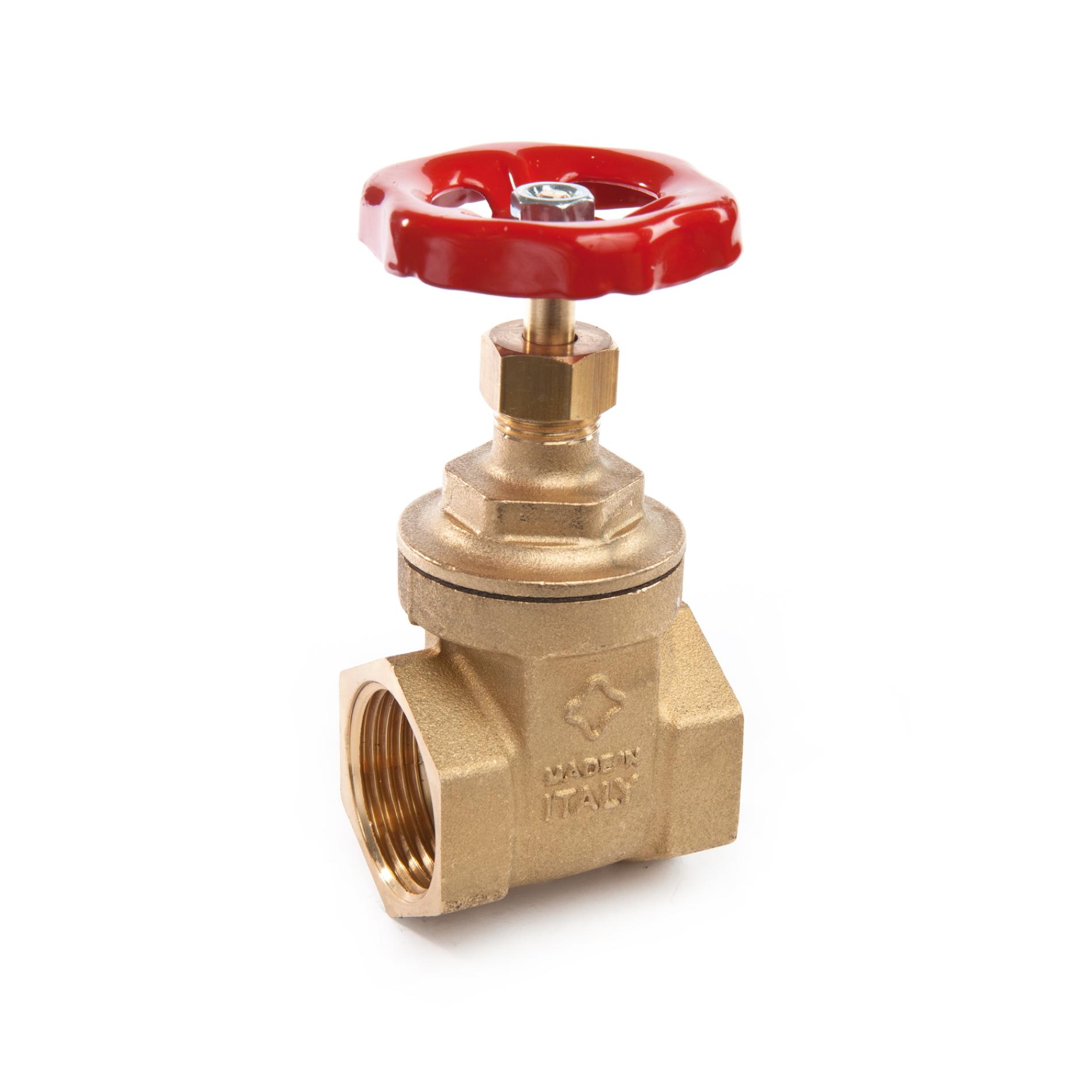 205 Saracinesca ottone tipo pesante Brass gate valve heavy type FxF PN20