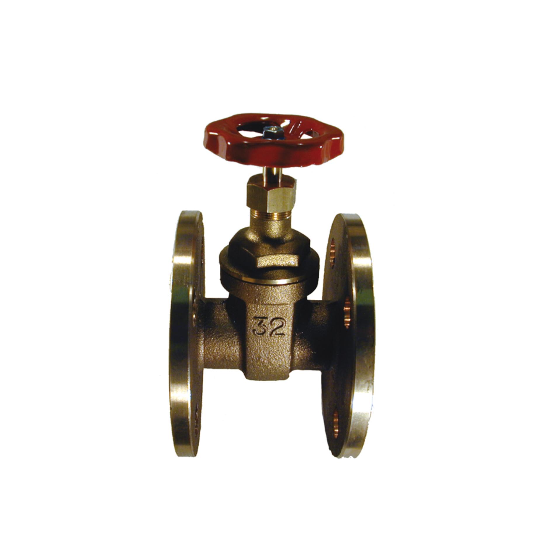 260 Saracinesca bronzo flangiata Bronze flanged gate valve