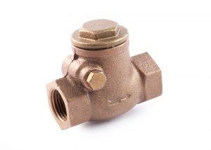 397 Valvola clapet bronzo sede metallica Bronze swing check valve metal disc