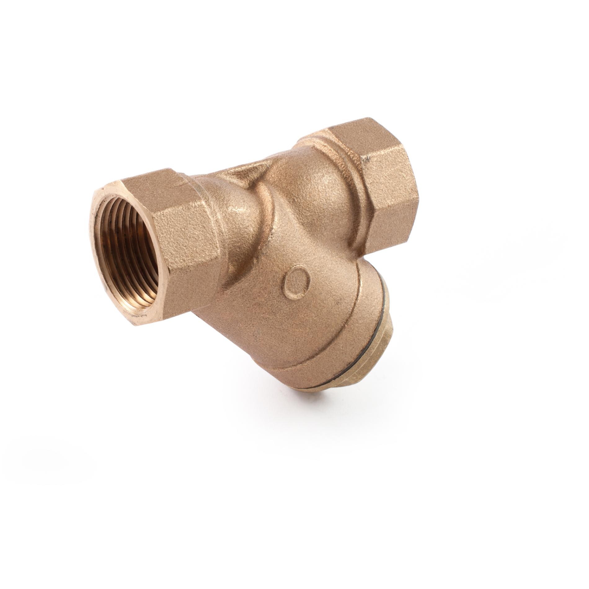 411 Filtro in bronzo per liquidi Bronze Y pattern strainer for liquids