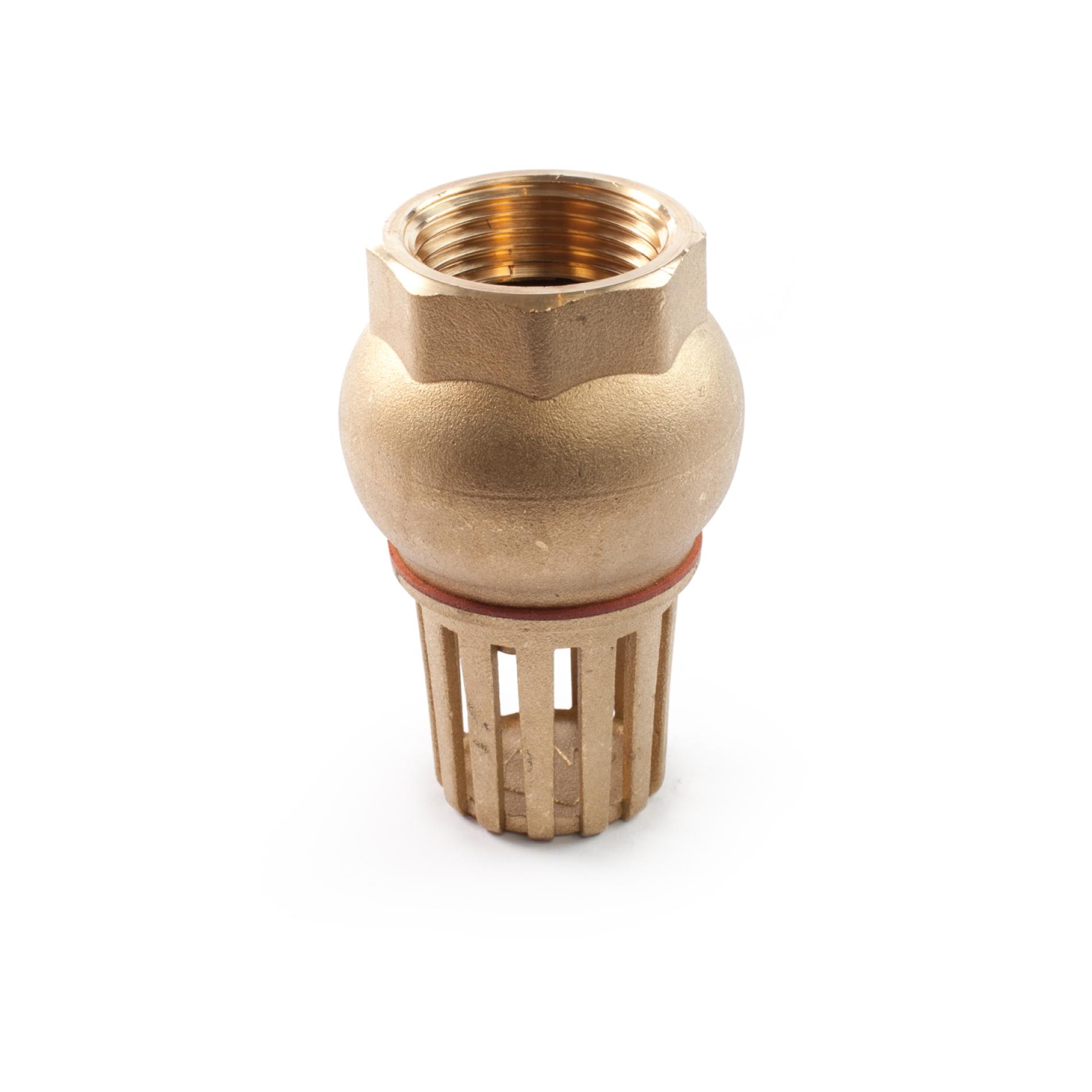 420 Valvola fondo filtro ottone Brass foot valve with strainer