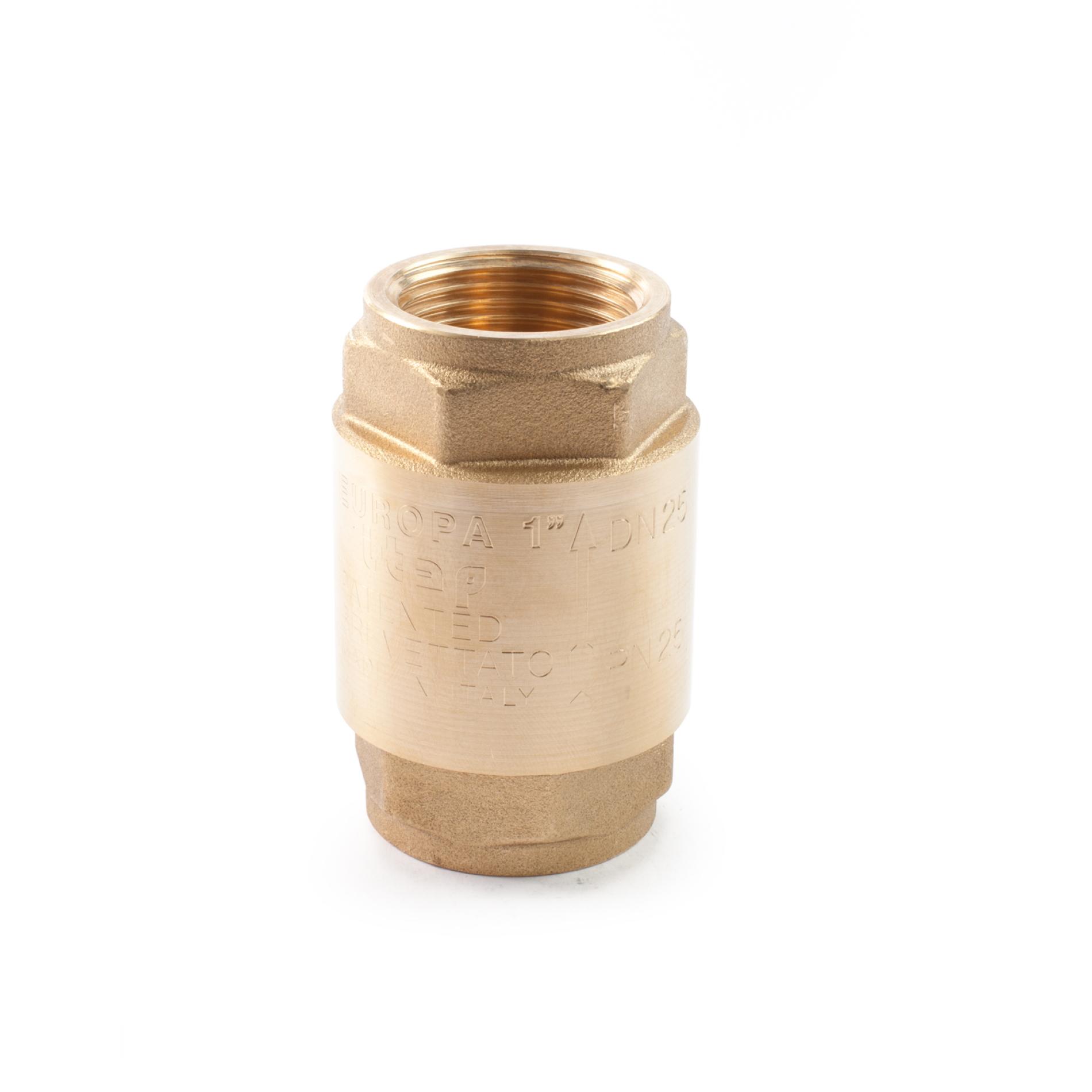 470 Valvola di non ritorno ottone EUROPA NRV Brass non-return valve