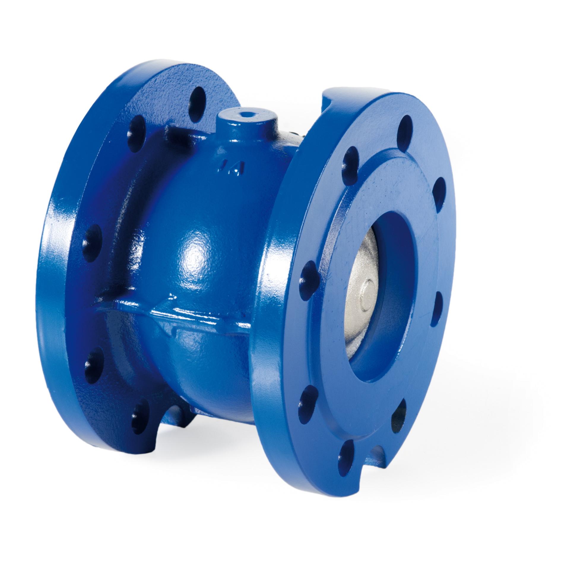 480GH Valvola di non ritorno ghisa flangiata orizzontale e verticale NRV Cast iron flanged non-return valve horizontal vertical type