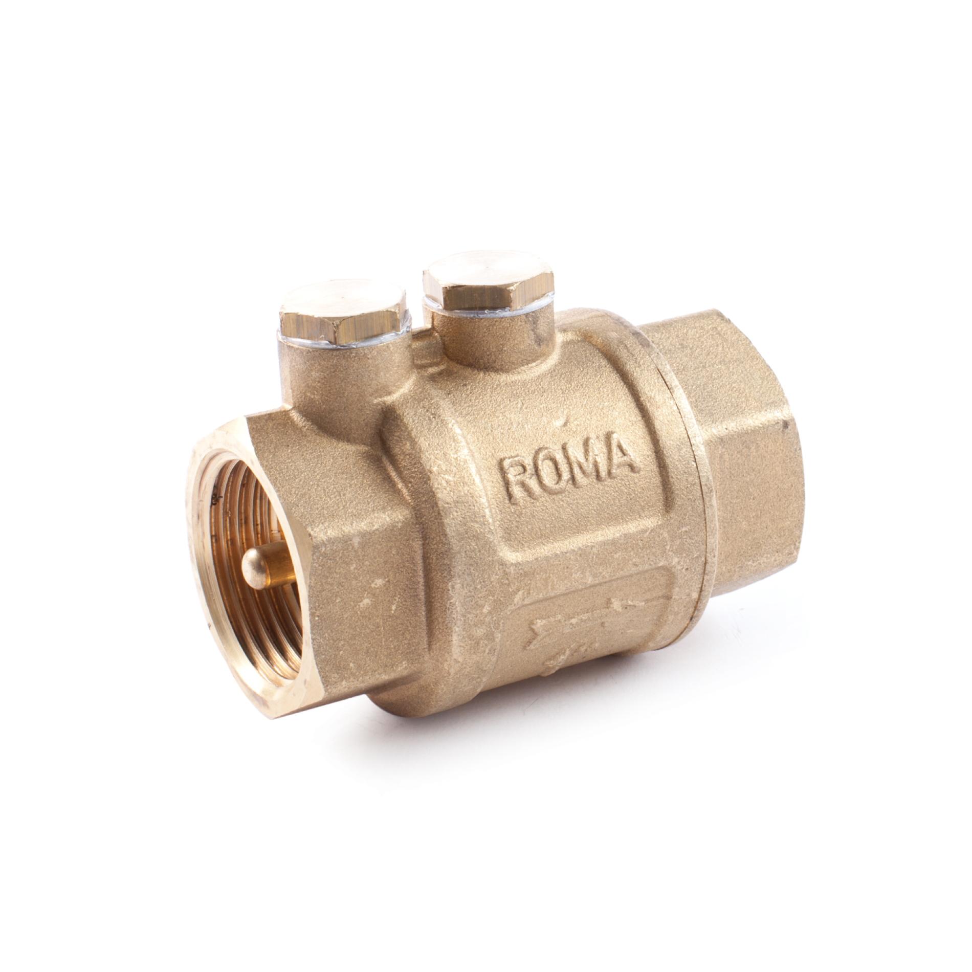 495 Valvola di non ritorno ottone ROMA NRV Brass non-return valve