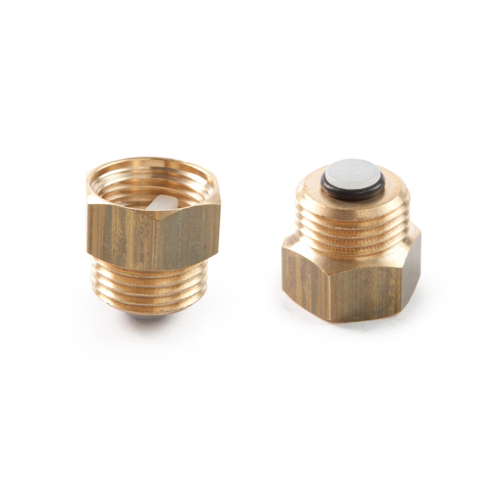 595 Valvola di intercettazione automatica per valvole sfogo aria Automatic shut off valve for automatic air vent