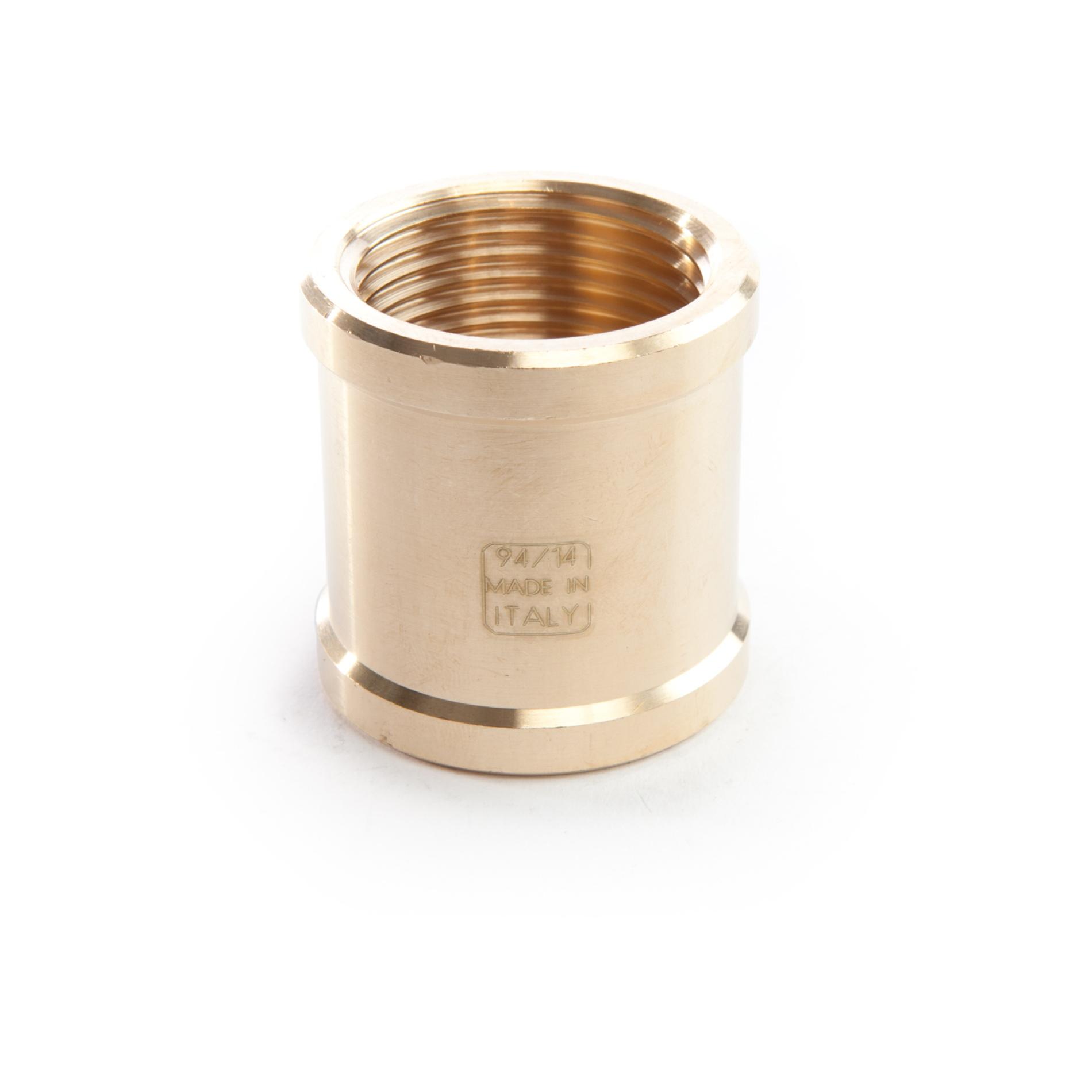 960 Manicotto ottone filettato FxF Socket brass threaded