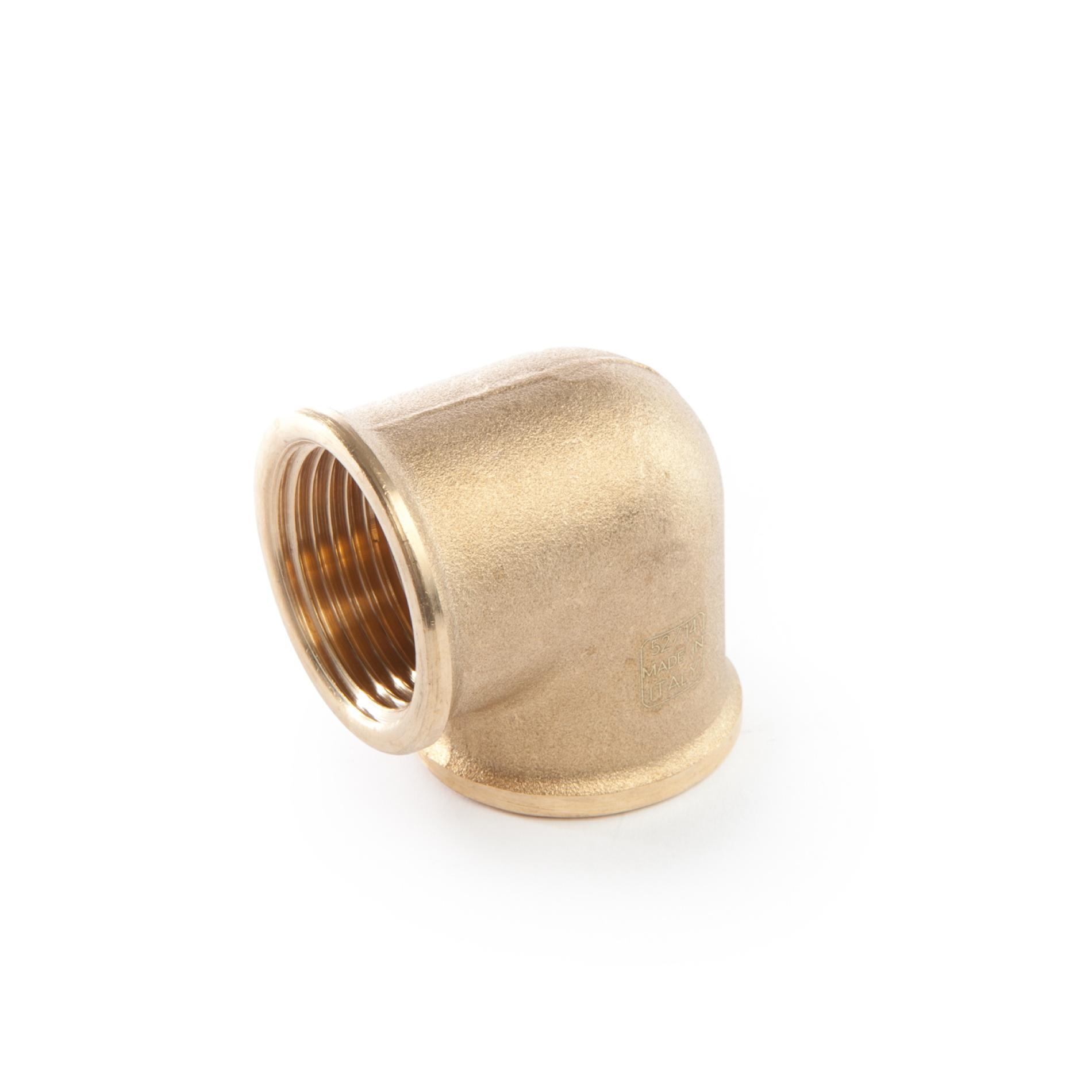 964 Gomiti 90° FxF elbows brass threaded ottone filettati